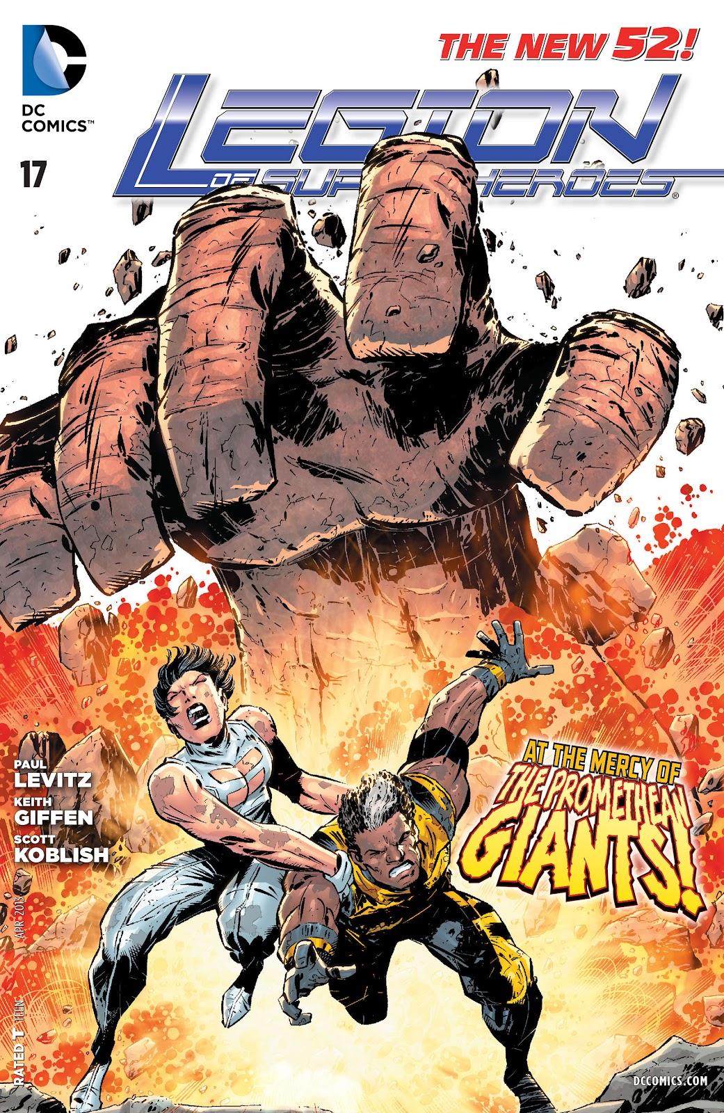 Legion of Super-Heroes (2011) Issue #17 #18 - English 1
