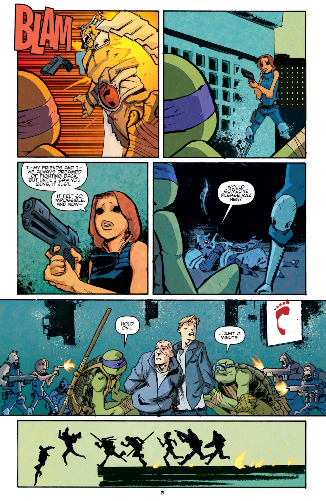 Read online Teenage Mutant Ninja Turtles: The IDW Collection comic -  Issue # TPB 5 (Part 1) - 90