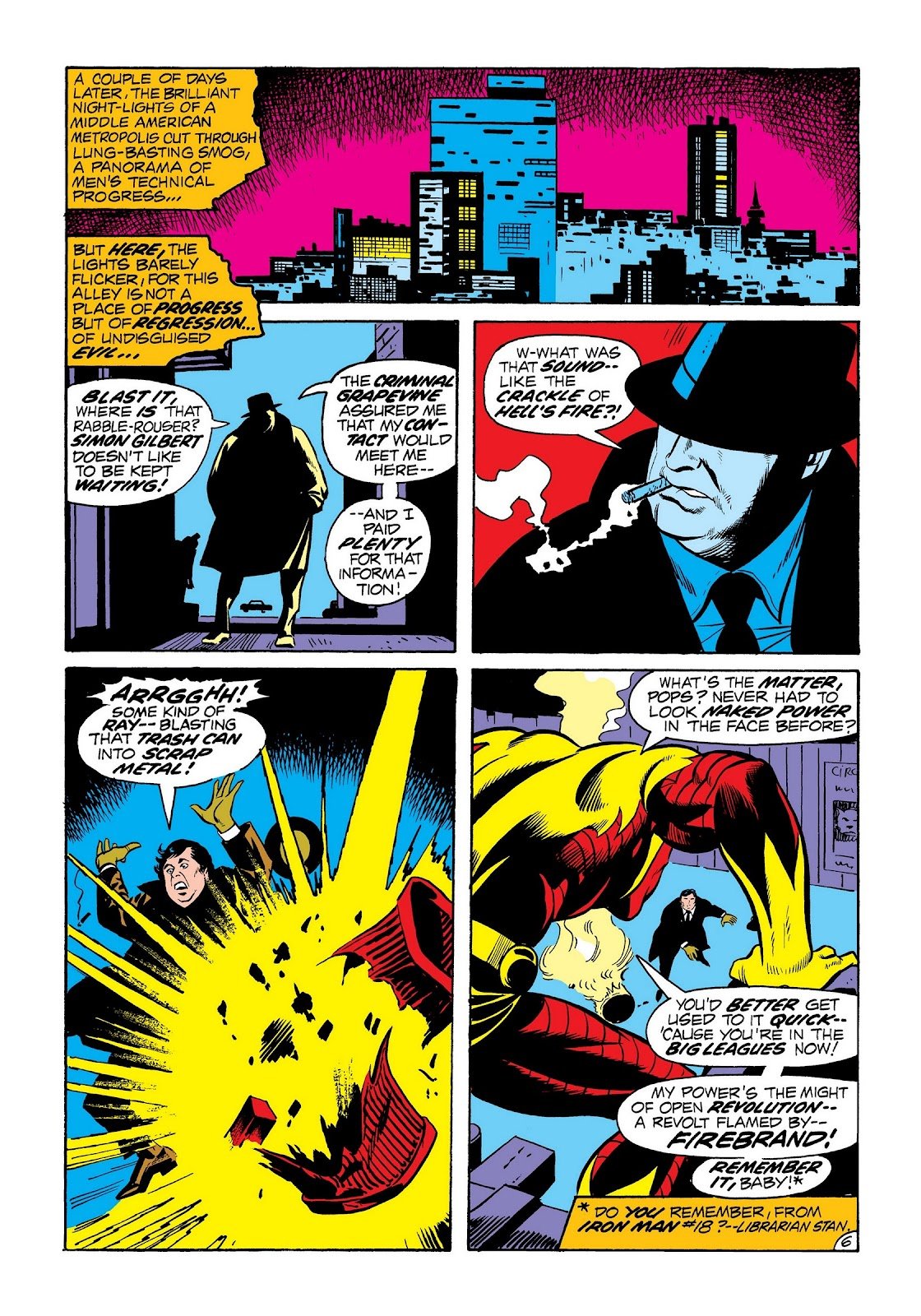 Read online Marvel Masterworks: The Invincible Iron Man comic -  Issue # TPB 8 (Part 2) - 94