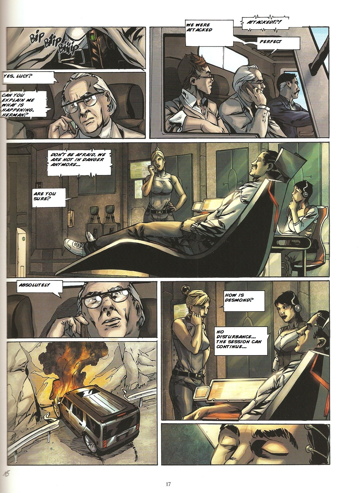 Read online Assassin's Creed (2009) comic -  Issue #2 - 17