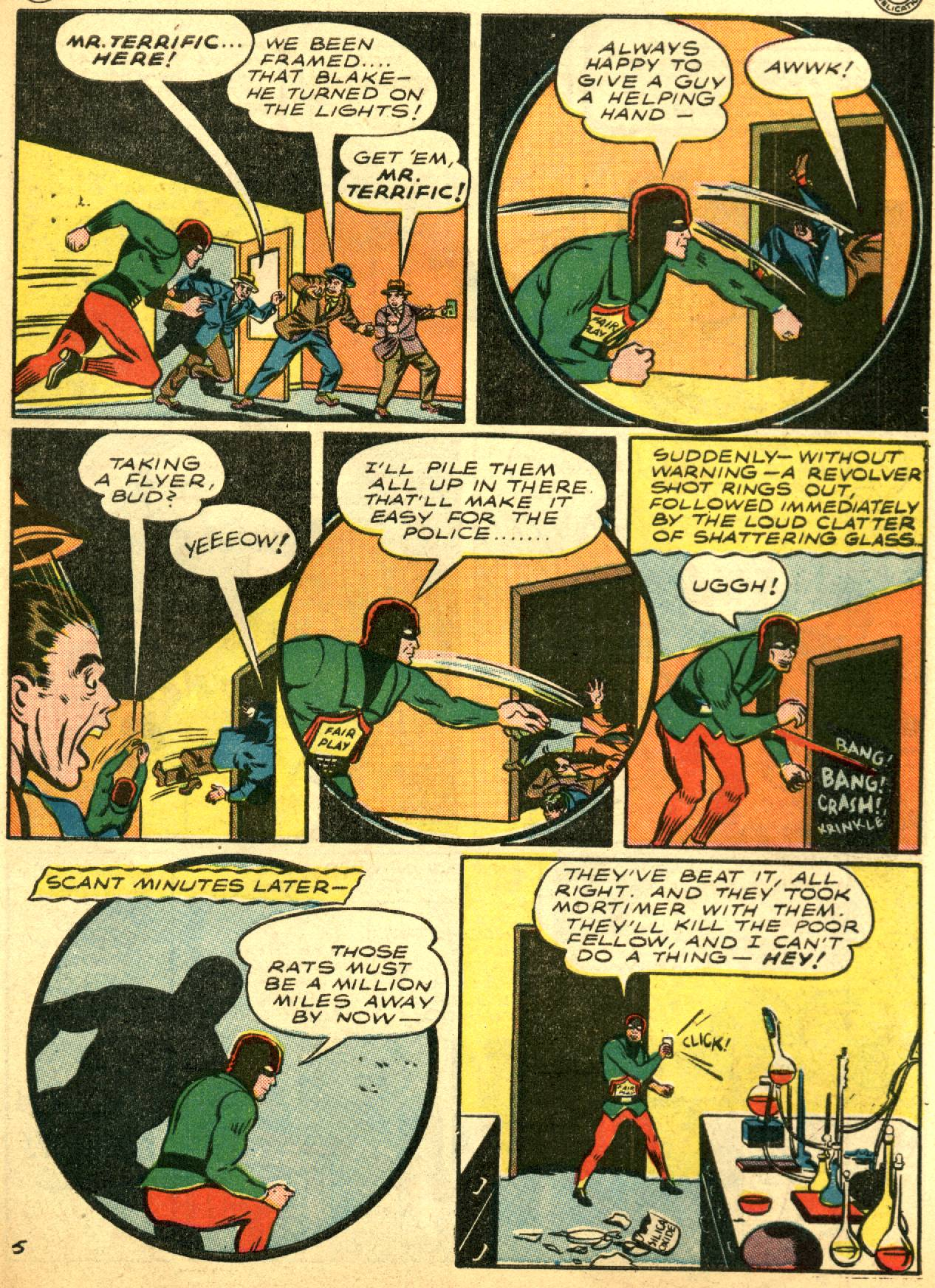 Read online Sensation (Mystery) Comics comic -  Issue #53 - 39