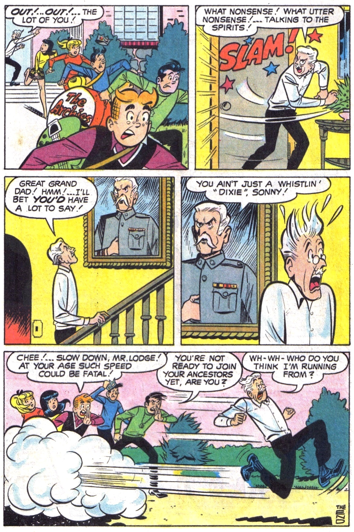 Read online Archie (1960) comic -  Issue #190 - 8