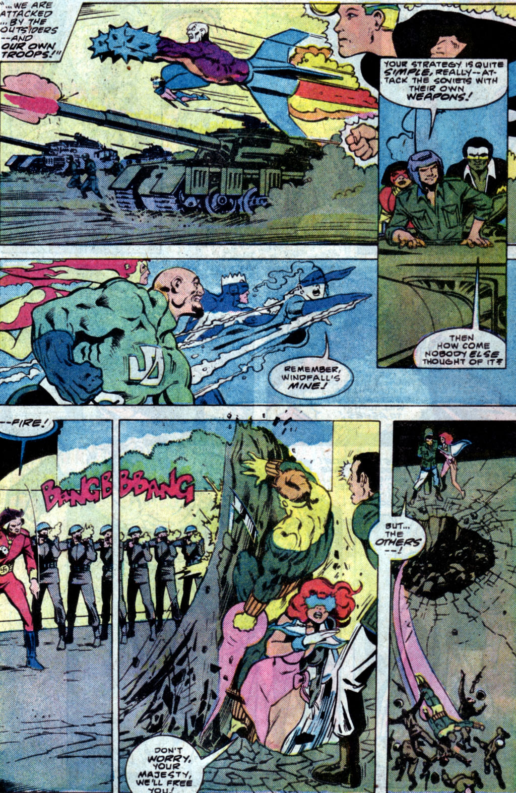 Read online Adventures of the Outsiders comic -  Issue #35 - 17