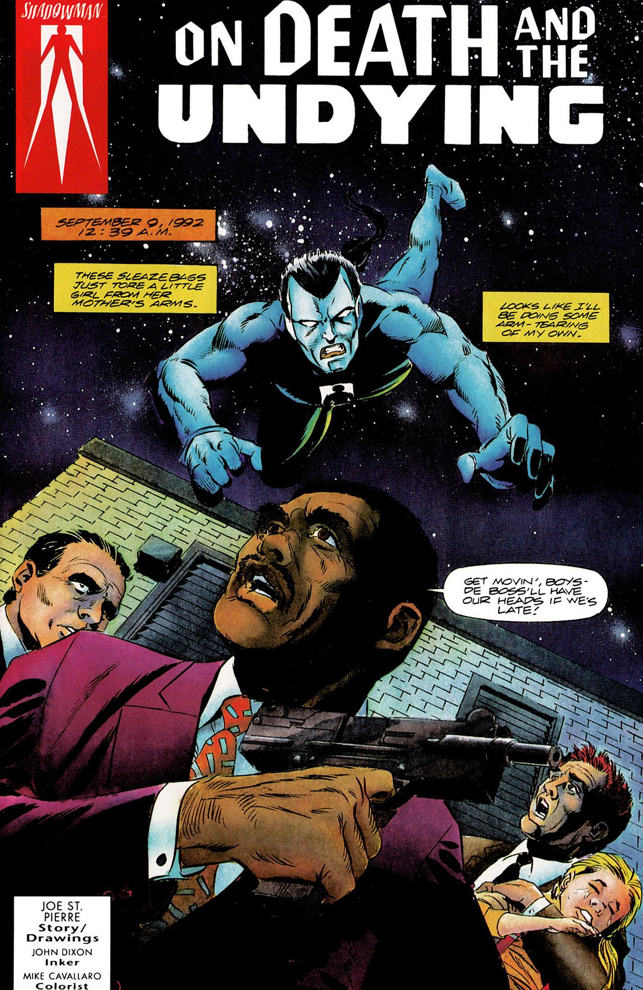 Read online Shadowman (1992) comic -  Issue #9 - 2