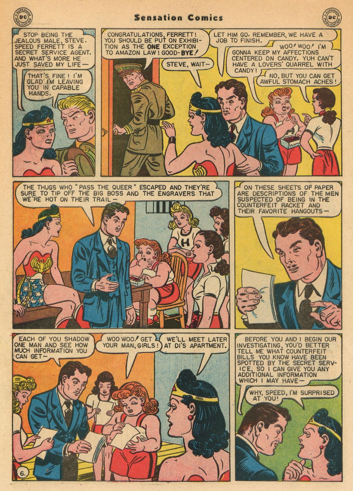 Read online Sensation (Mystery) Comics comic -  Issue #51 - 8
