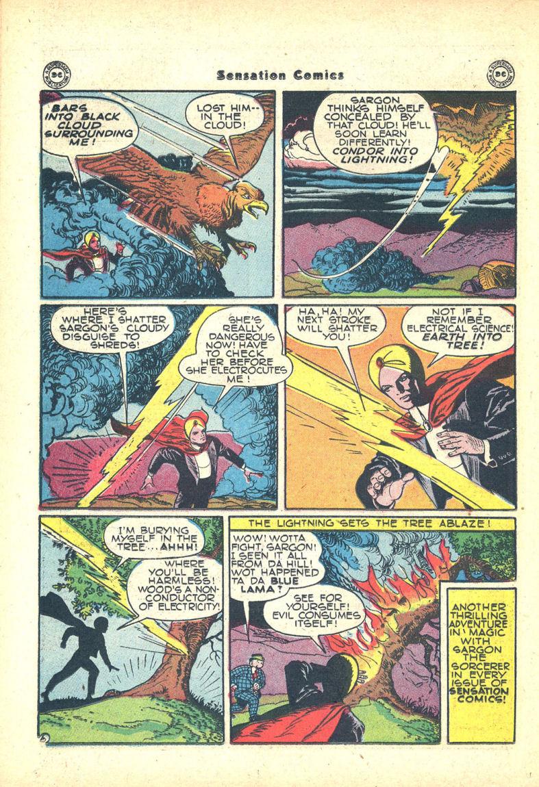 Read online Sensation (Mystery) Comics comic -  Issue #68 - 38