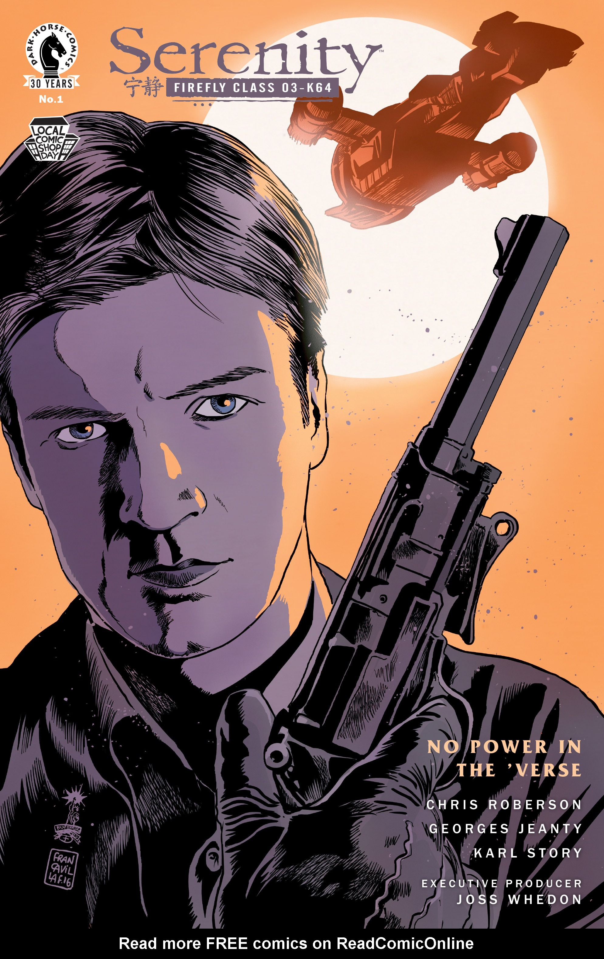 Read online Serenity: Firefly Class 03-K64 – No Power in the 'Verse comic -  Issue #1 - 6