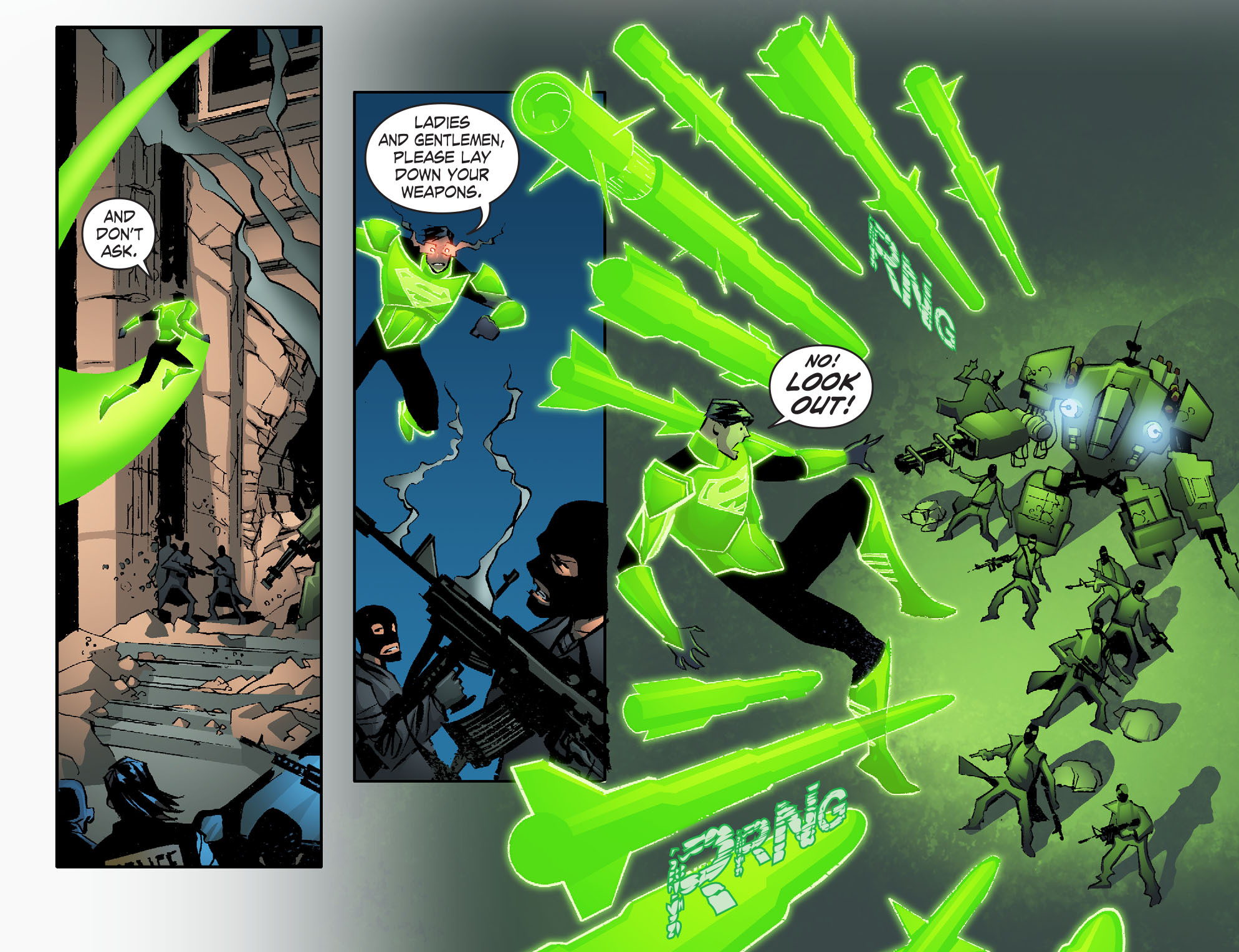 Read online Smallville: Lantern [I] comic -  Issue #2 - 18