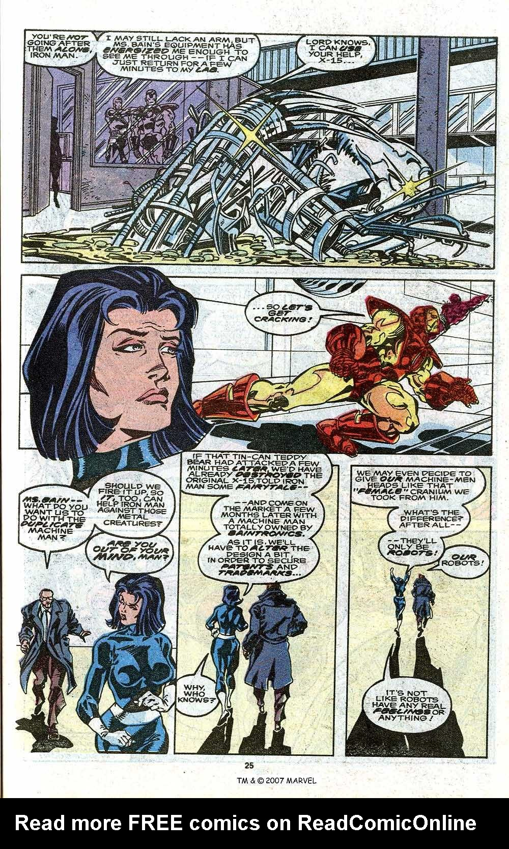 Iron Man Annual issue 11 - Page 27