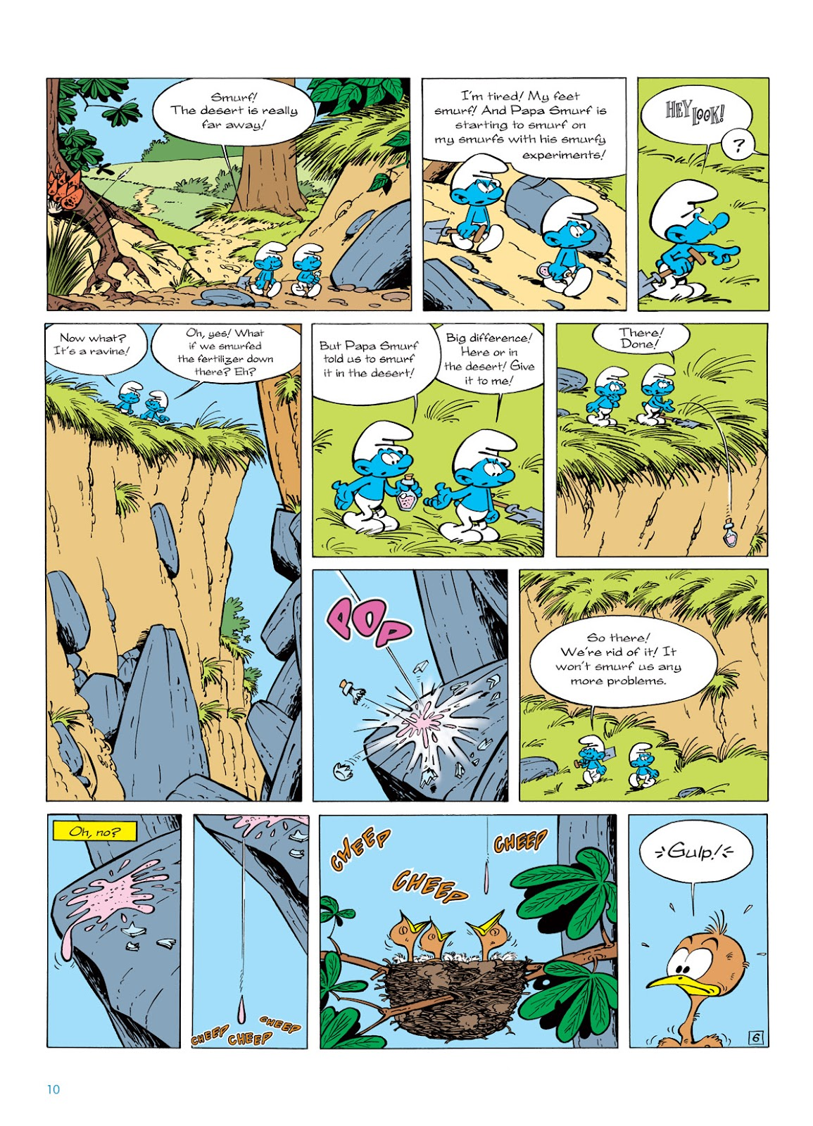 Read online The Smurfs comic -  Issue #6 - 10