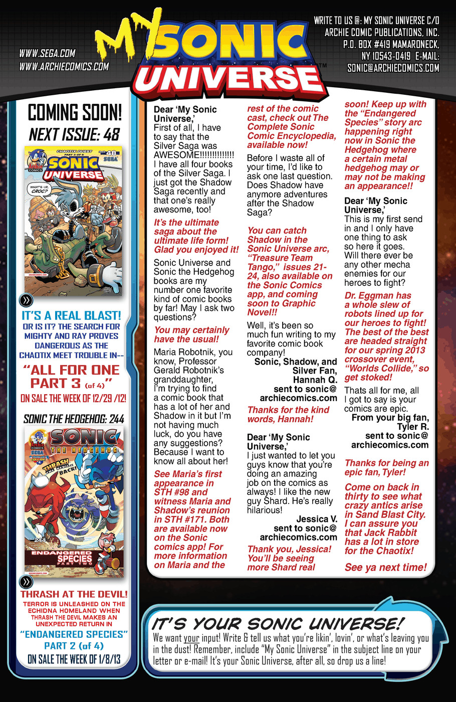 Read online Sonic Universe comic -  Issue #47 - 25