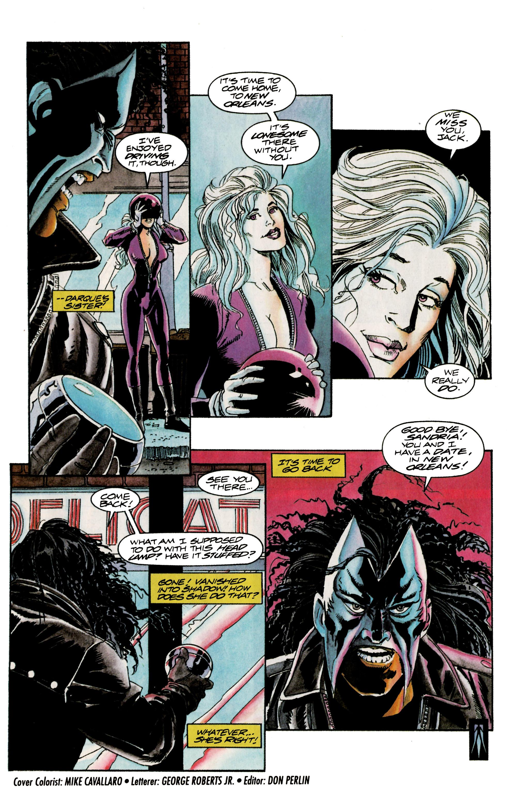 Read online Shadowman (1992) comic -  Issue #16 - 22