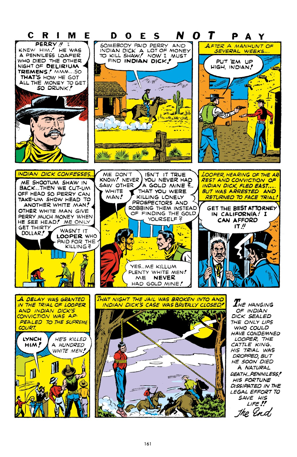 Read online Crime Does Not Pay Archives comic -  Issue # TPB 1 (Part 2) - 64