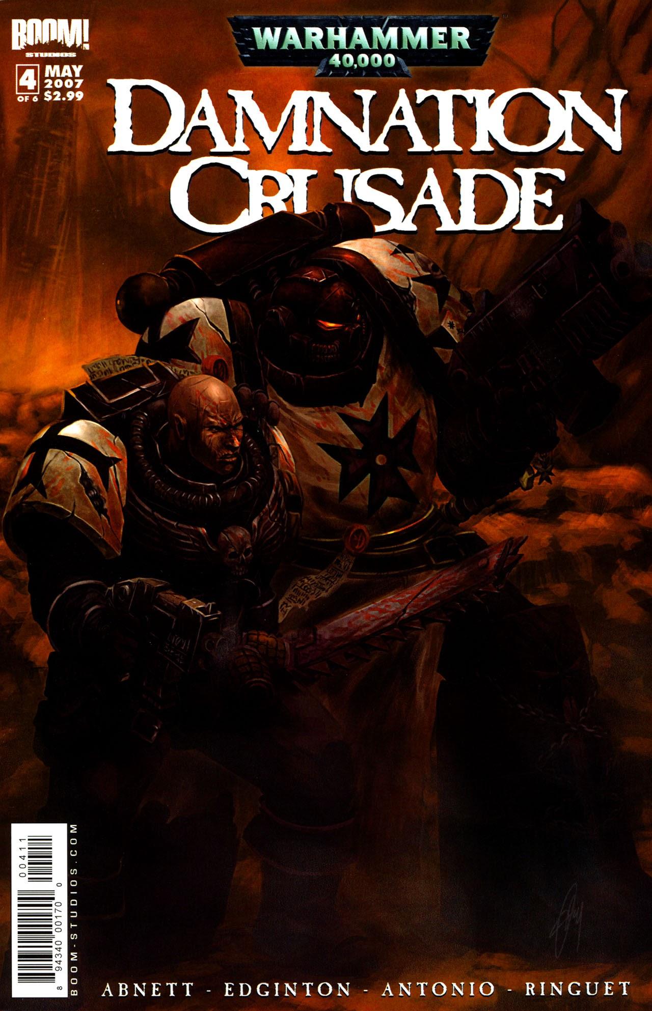 Warhammer 40,000: Damnation Crusade 4 Page 1