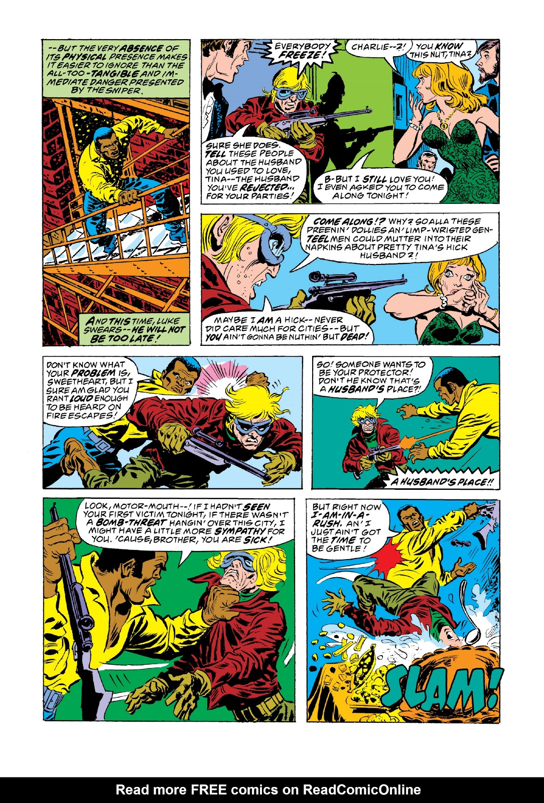 Read online Marvel Masterworks: Luke Cage, Power Man comic -  Issue # TPB 3 (Part 3) - 94