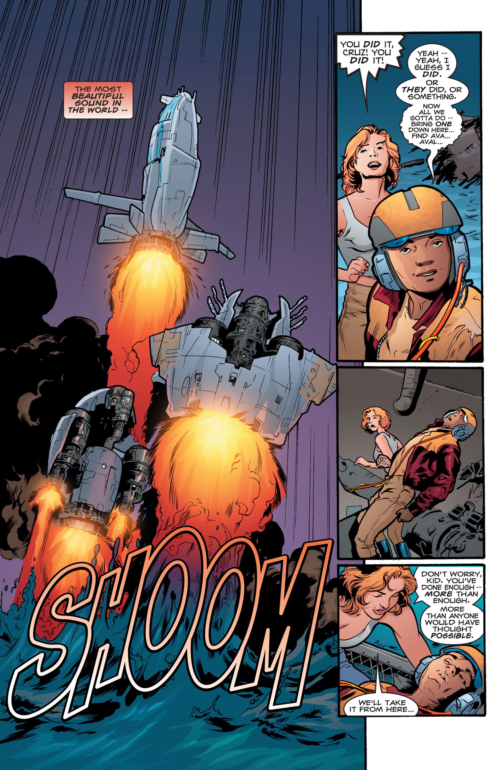 Read online Shockrockets comic -  Issue # TPB - 123