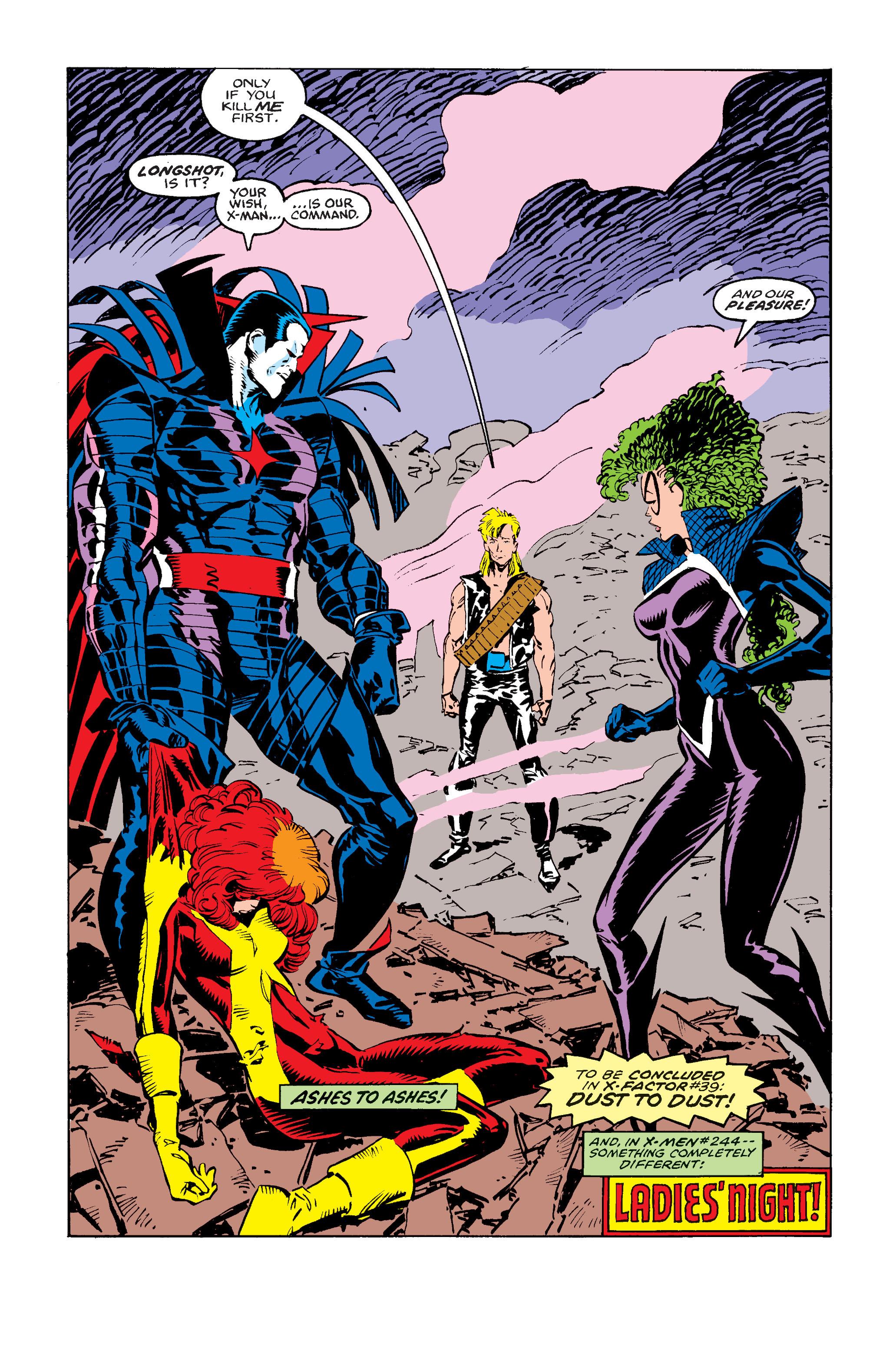 Read online Uncanny X-Men (1963) comic -  Issue #243 - 26