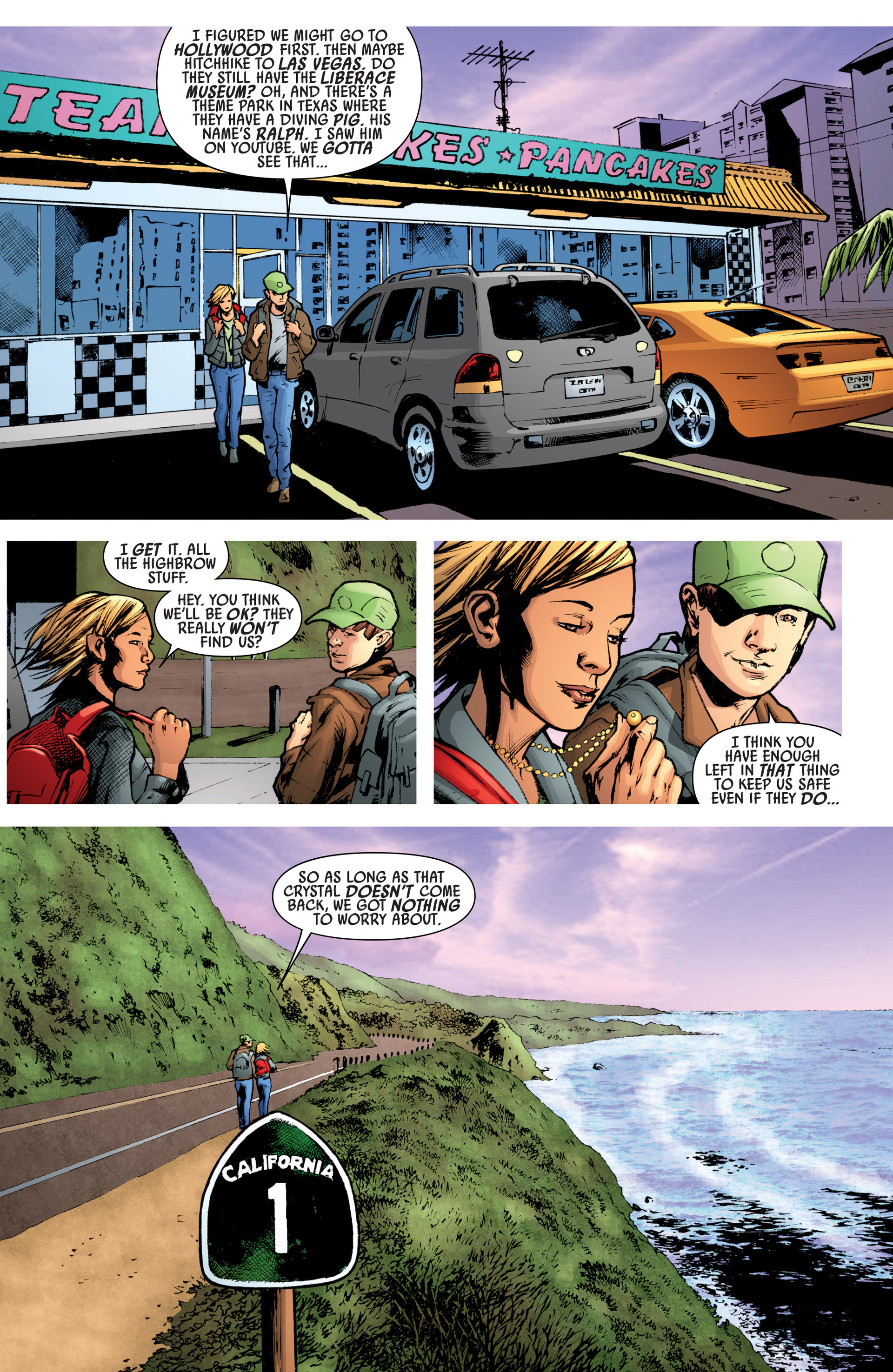 Read online America's Got Powers comic -  Issue #7 - 25