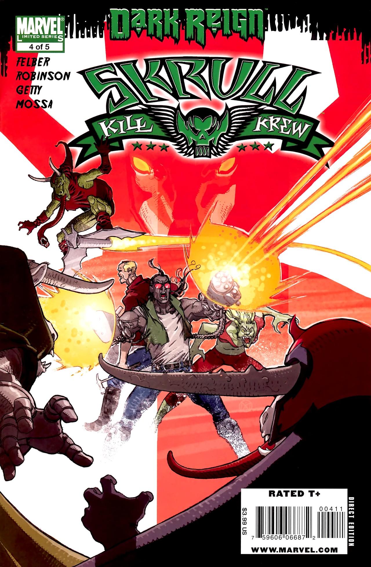Read online Skrull Kill Krew (2009) comic -  Issue #4 - 1