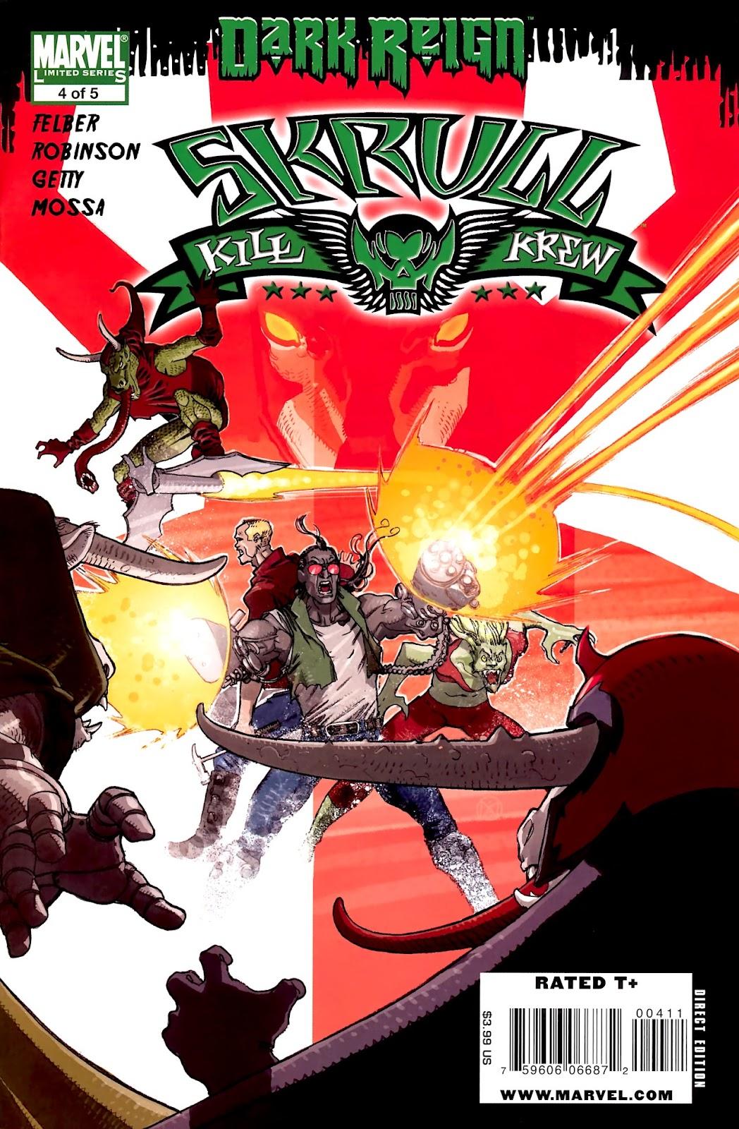 Skrull Kill Krew (2009) issue 4 - Page 1