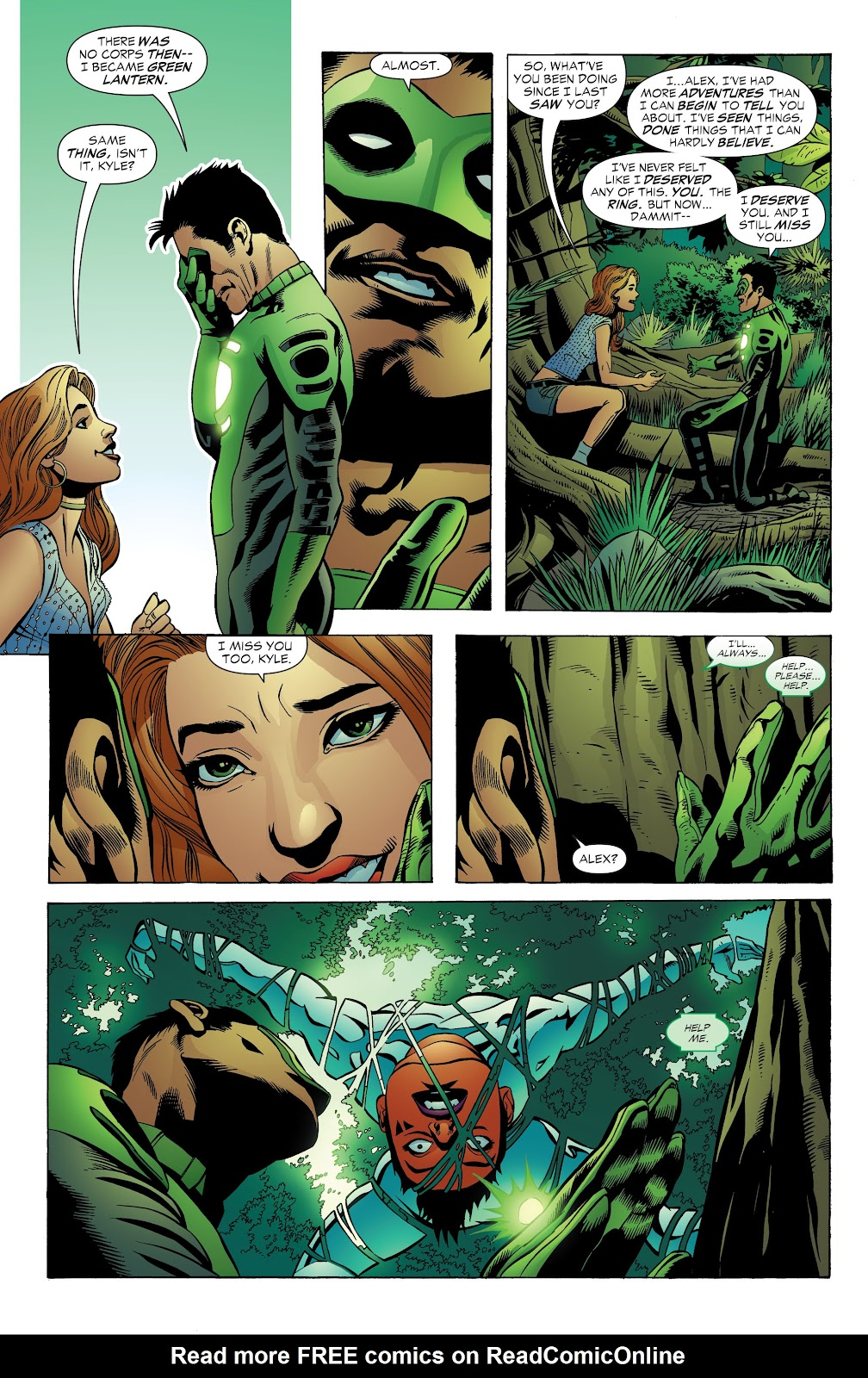 Read online Green Lantern by Geoff Johns comic -  Issue # TPB 1 (Part 3) - 21