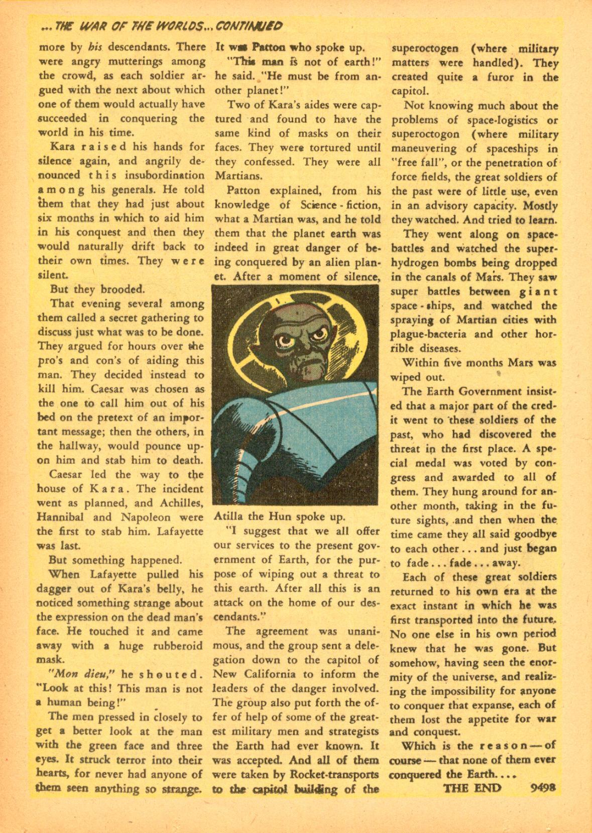 Read online Adventures into Weird Worlds comic -  Issue #3 - 16