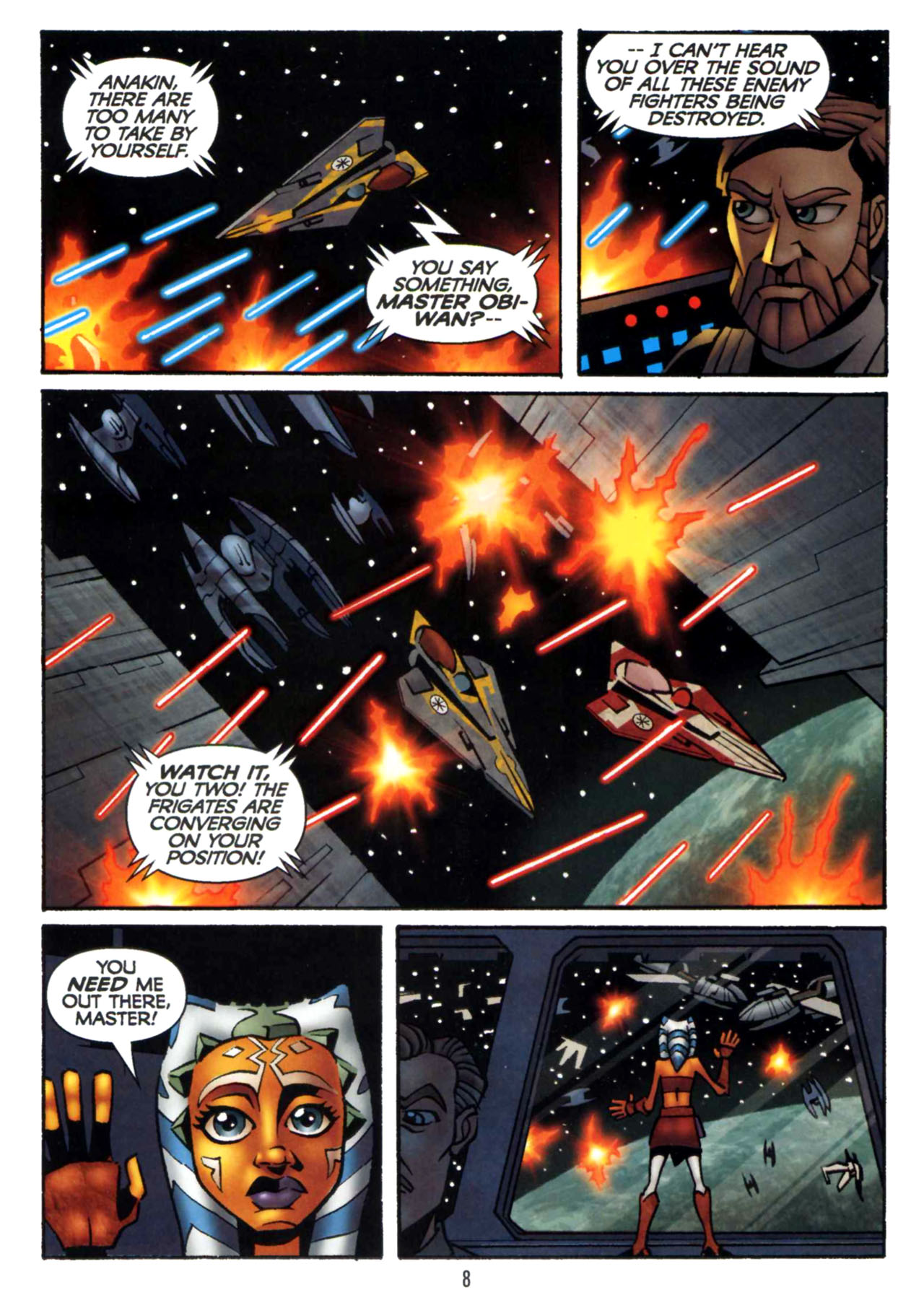 Read online Star Wars: The Clone Wars - Shipyards of Doom comic -  Issue # Full - 7