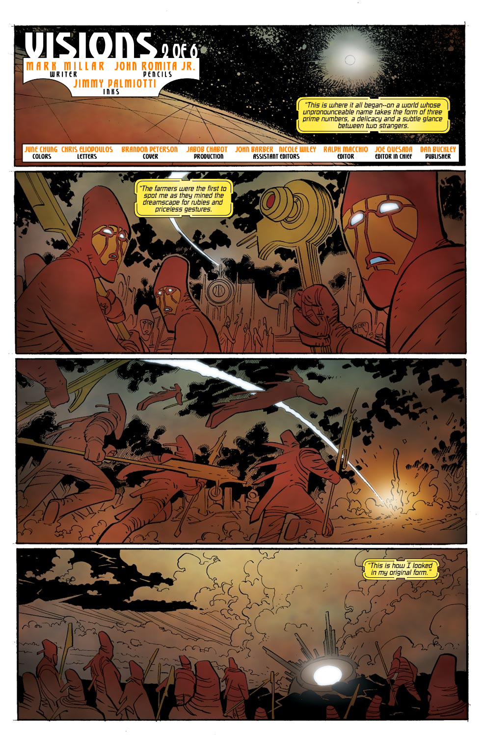 Read online Ultimate Vision comic -  Issue #0 - 7