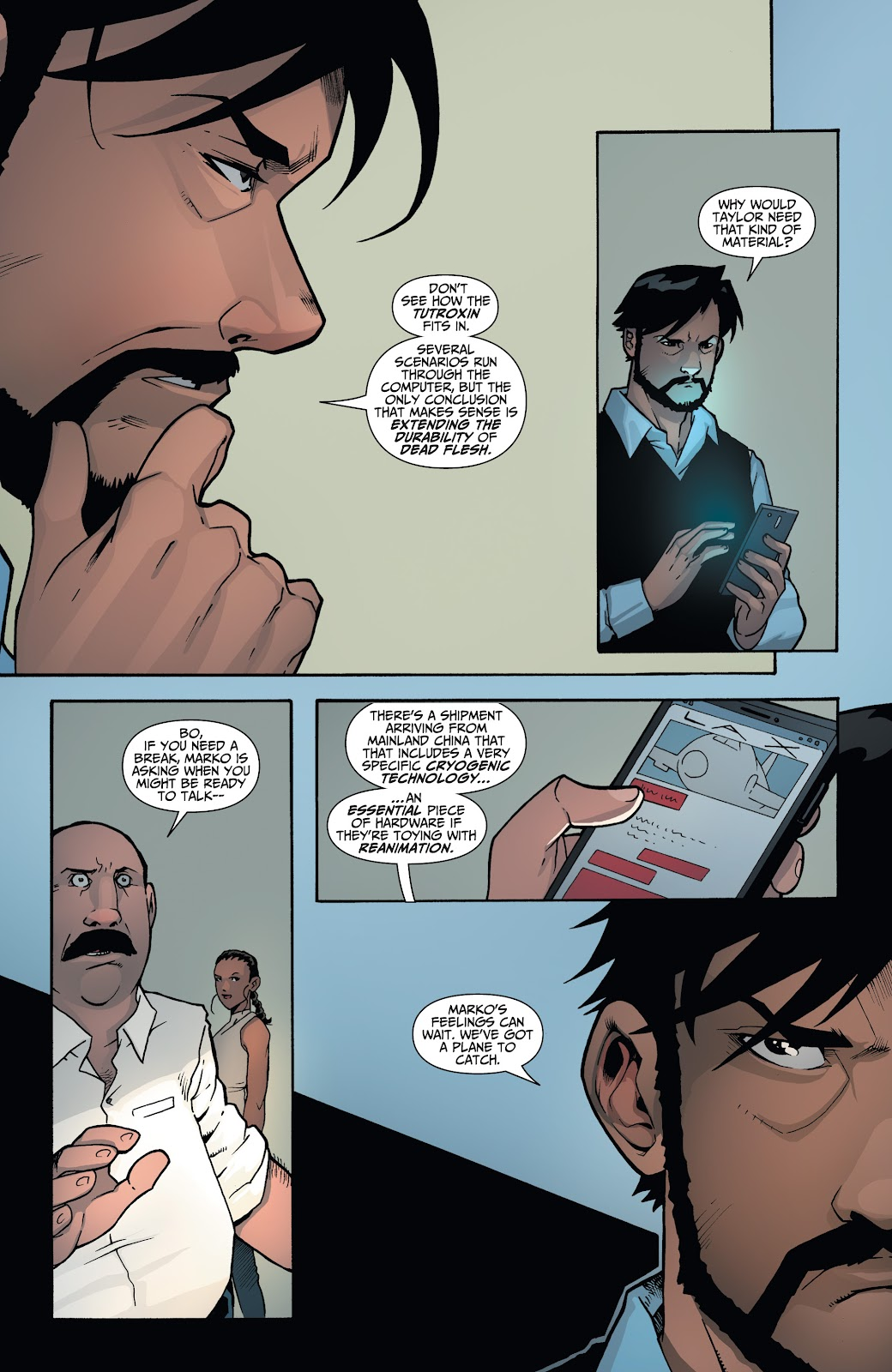 Read online Incidentals comic -  Issue #17 - 18