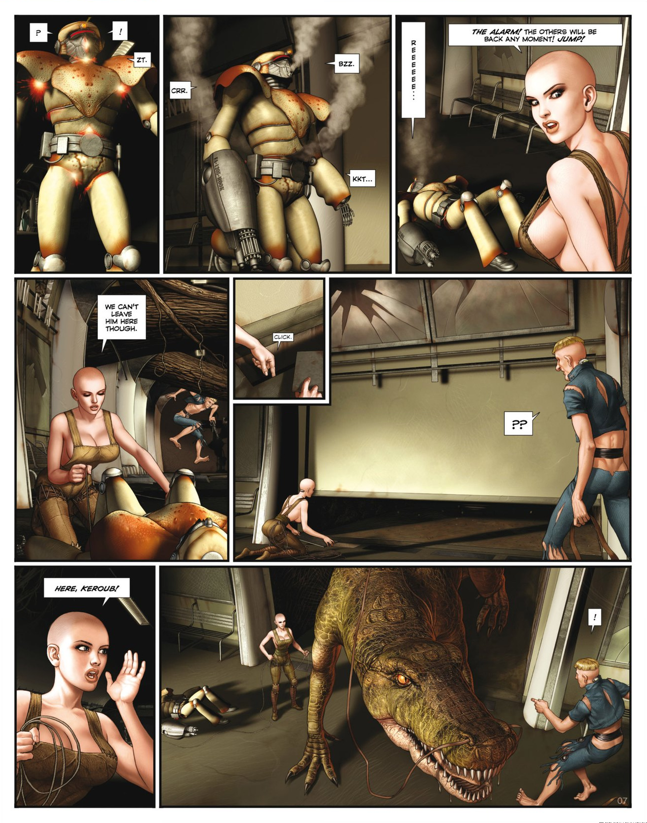 Read online Megalex (2014) comic -  Issue #2 - 9