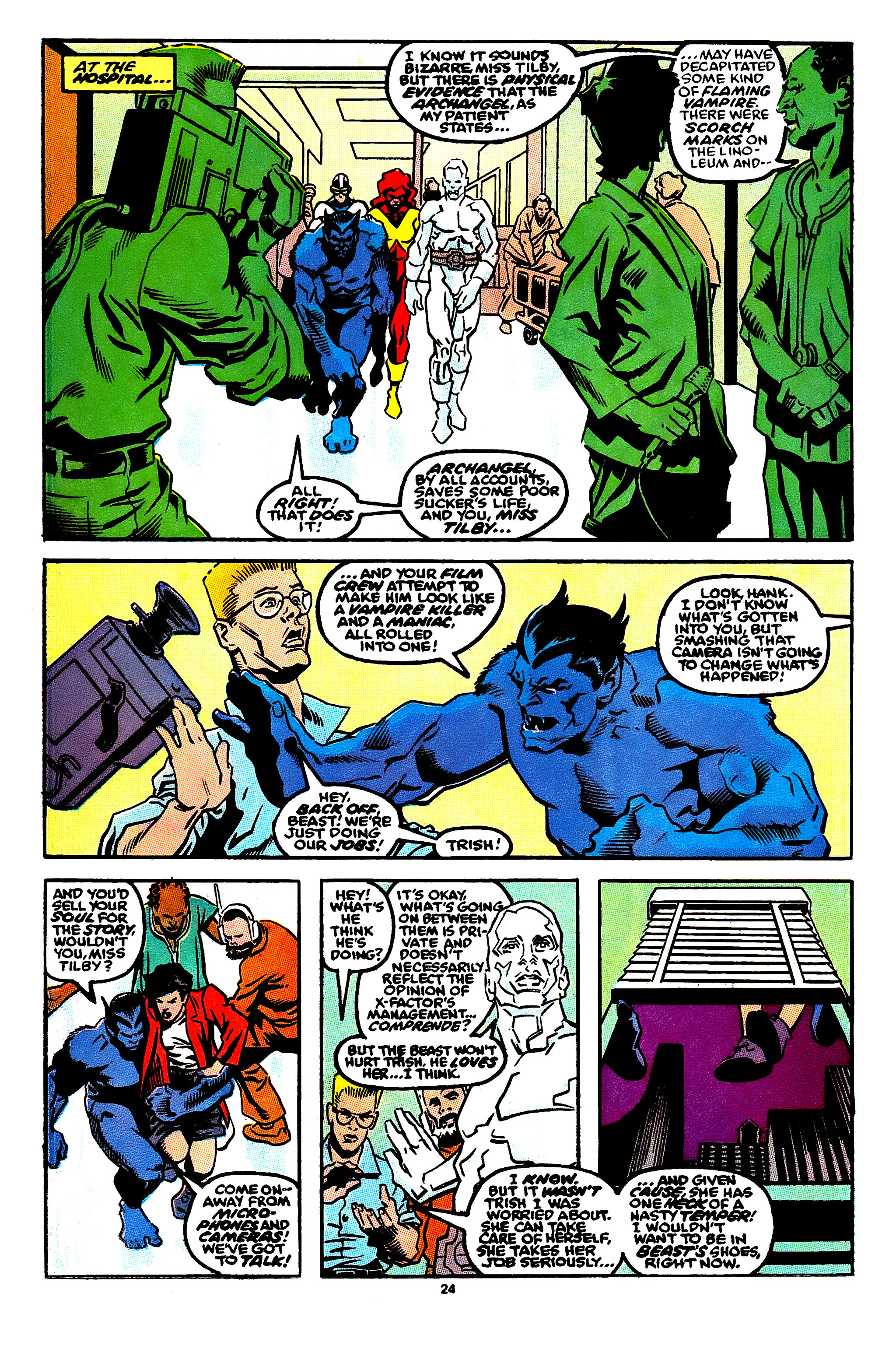 Read online X-Factor (1986) comic -  Issue #56 - 19