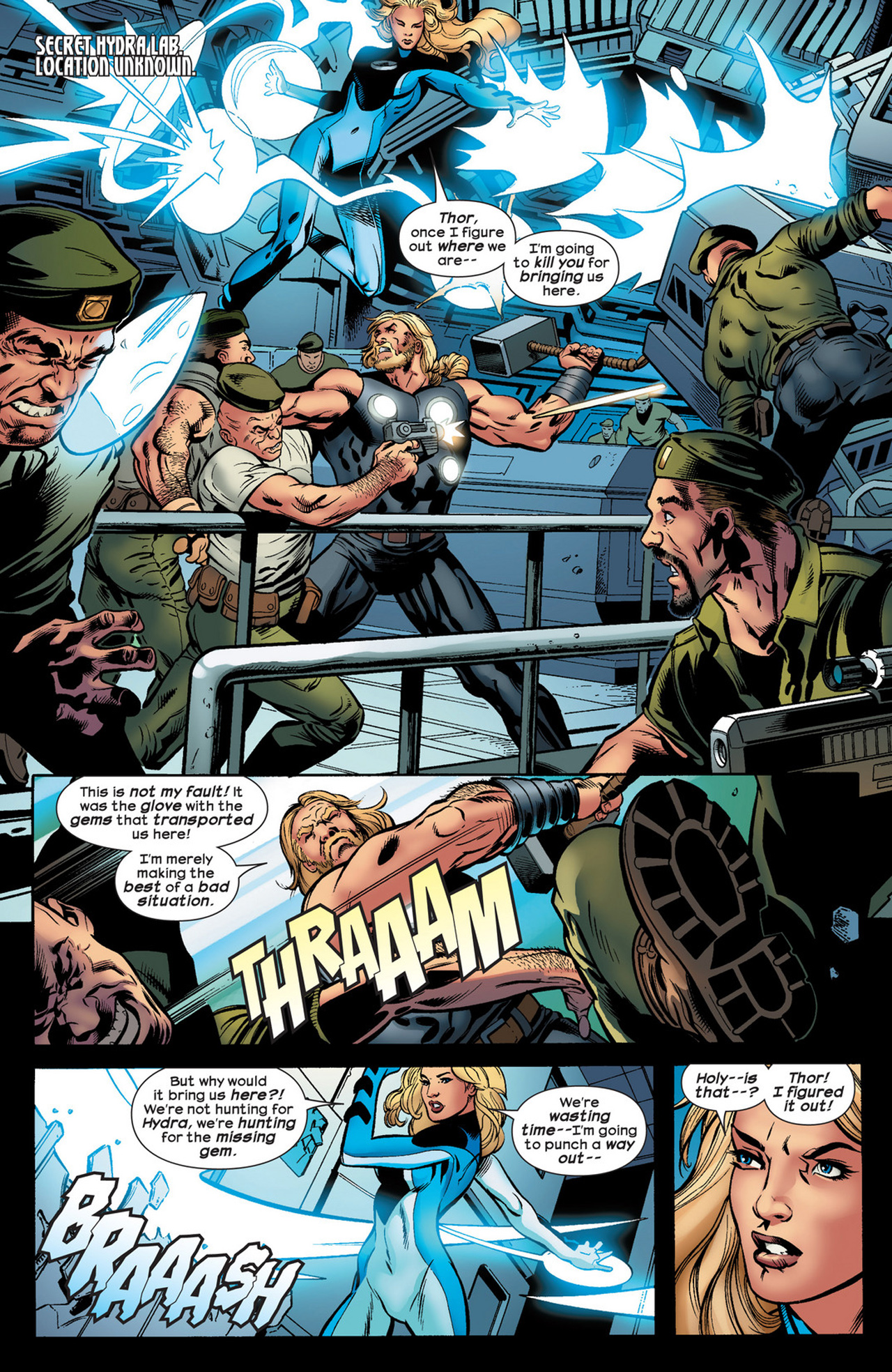 Read online Ultimate Comics Ultimates comic -  Issue #21 - 21