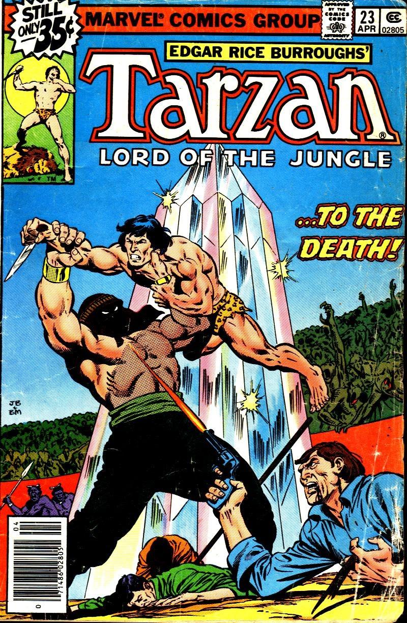 Tarzan (1977) issue 23 - Page 1