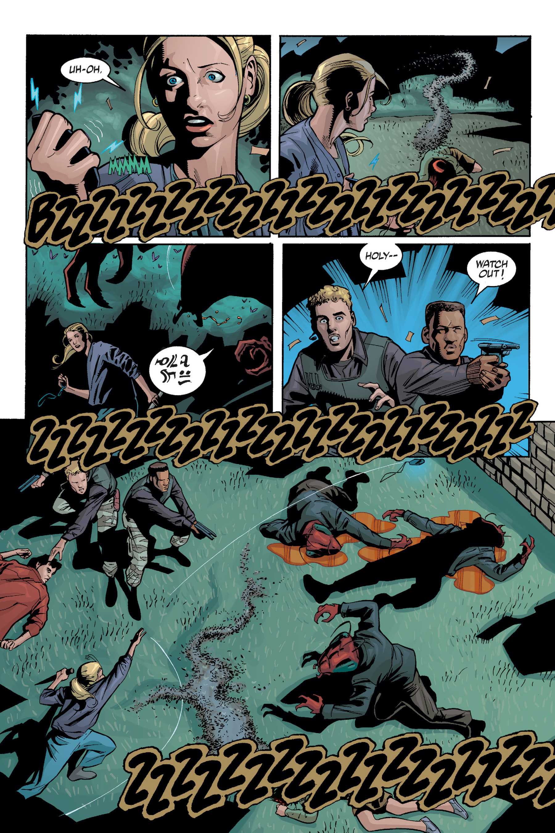 Read online Buffy the Vampire Slayer: Omnibus comic -  Issue # TPB 5 - 108