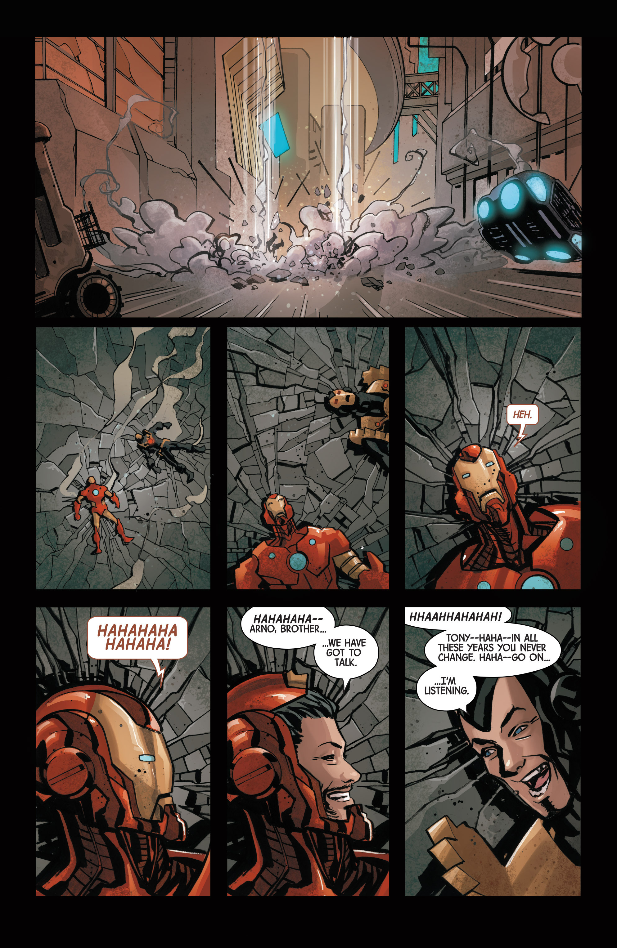 Read online Armor Wars comic -  Issue #3 - 16