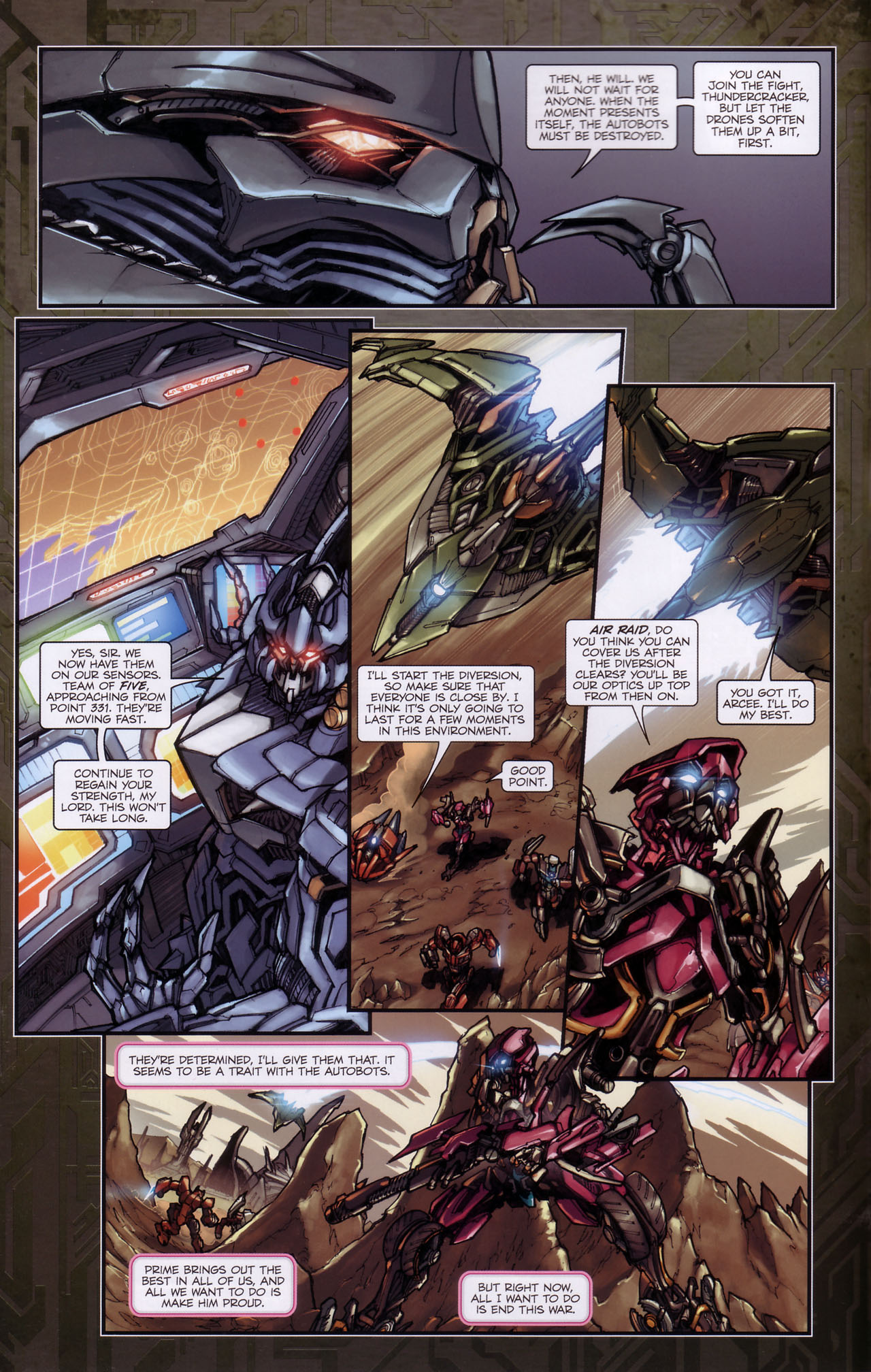 Read online Transformers: The Reign of Starscream comic -  Issue #3 - 4