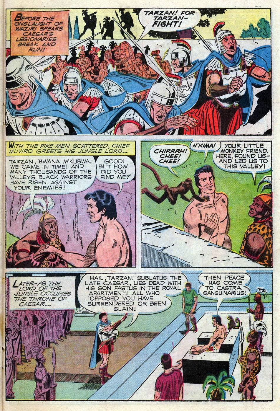 Tarzan (1962) issue 195 - Page 23