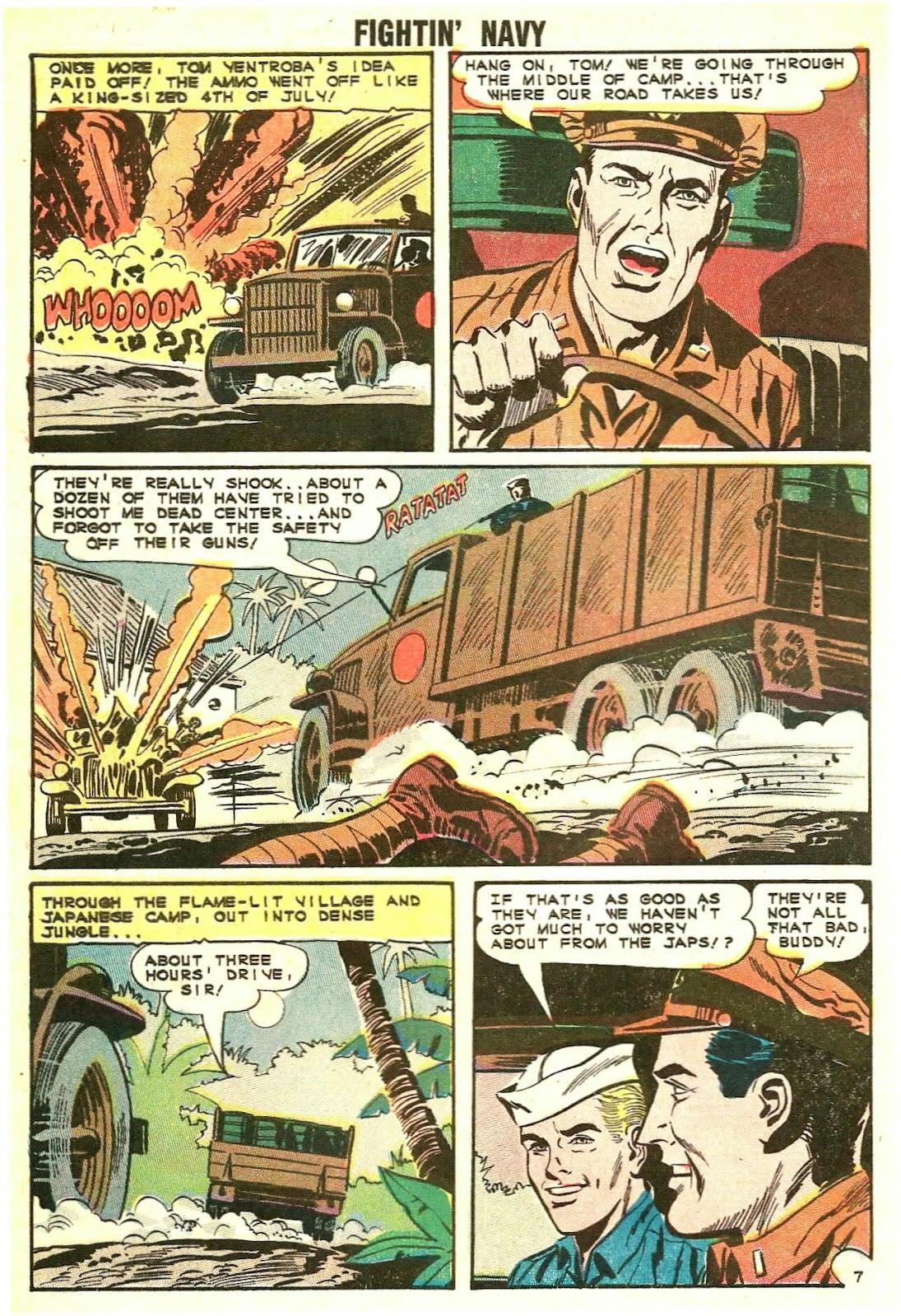 Read online Fightin' Navy comic -  Issue #117 - 10