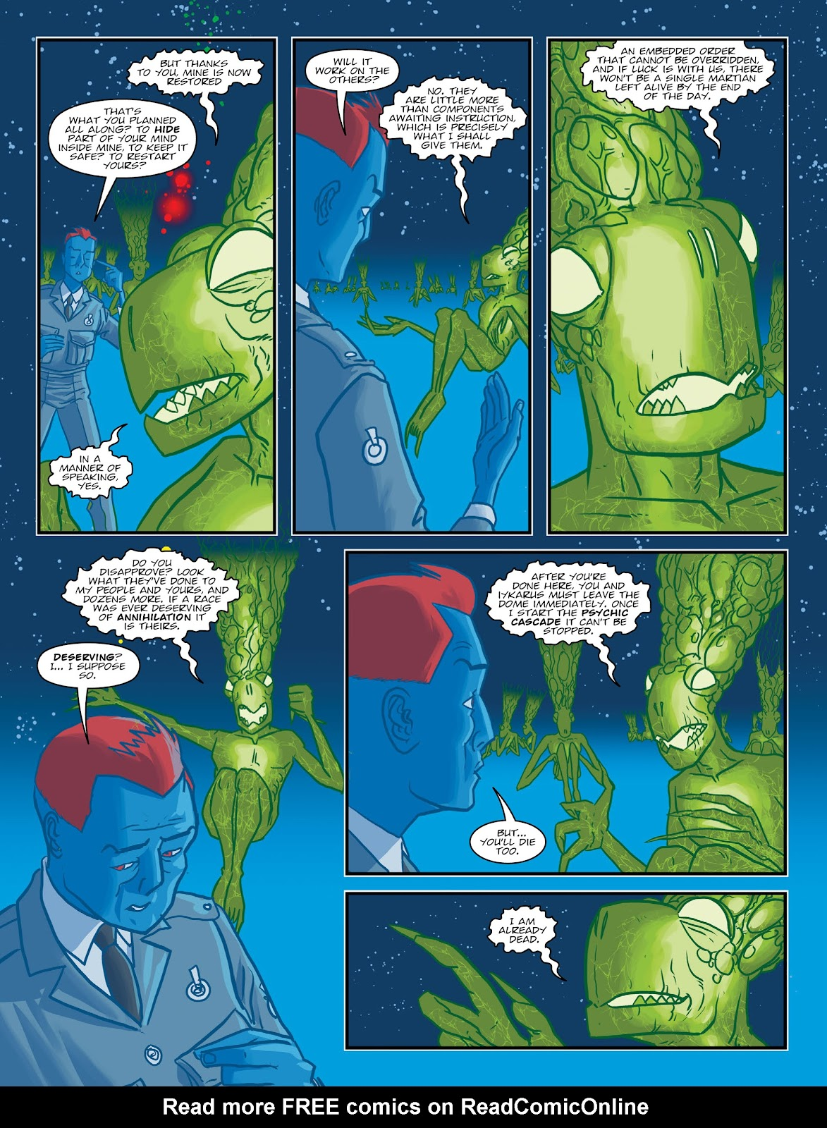 Read online 2000 AD comic -  Issue #2030 - 21