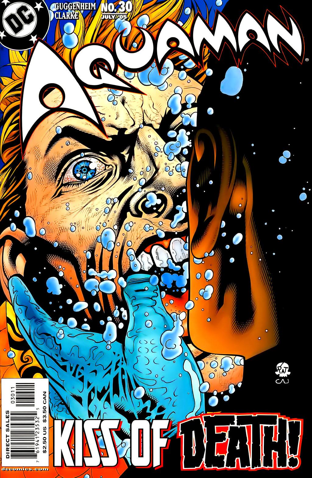 Read online Aquaman (2003) comic -  Issue #30 - 1