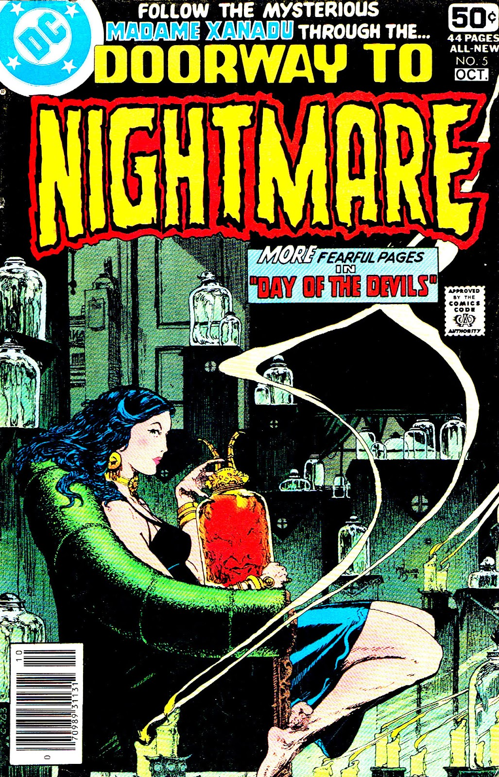 Doorway to Nightmare issue 5 - Page 1