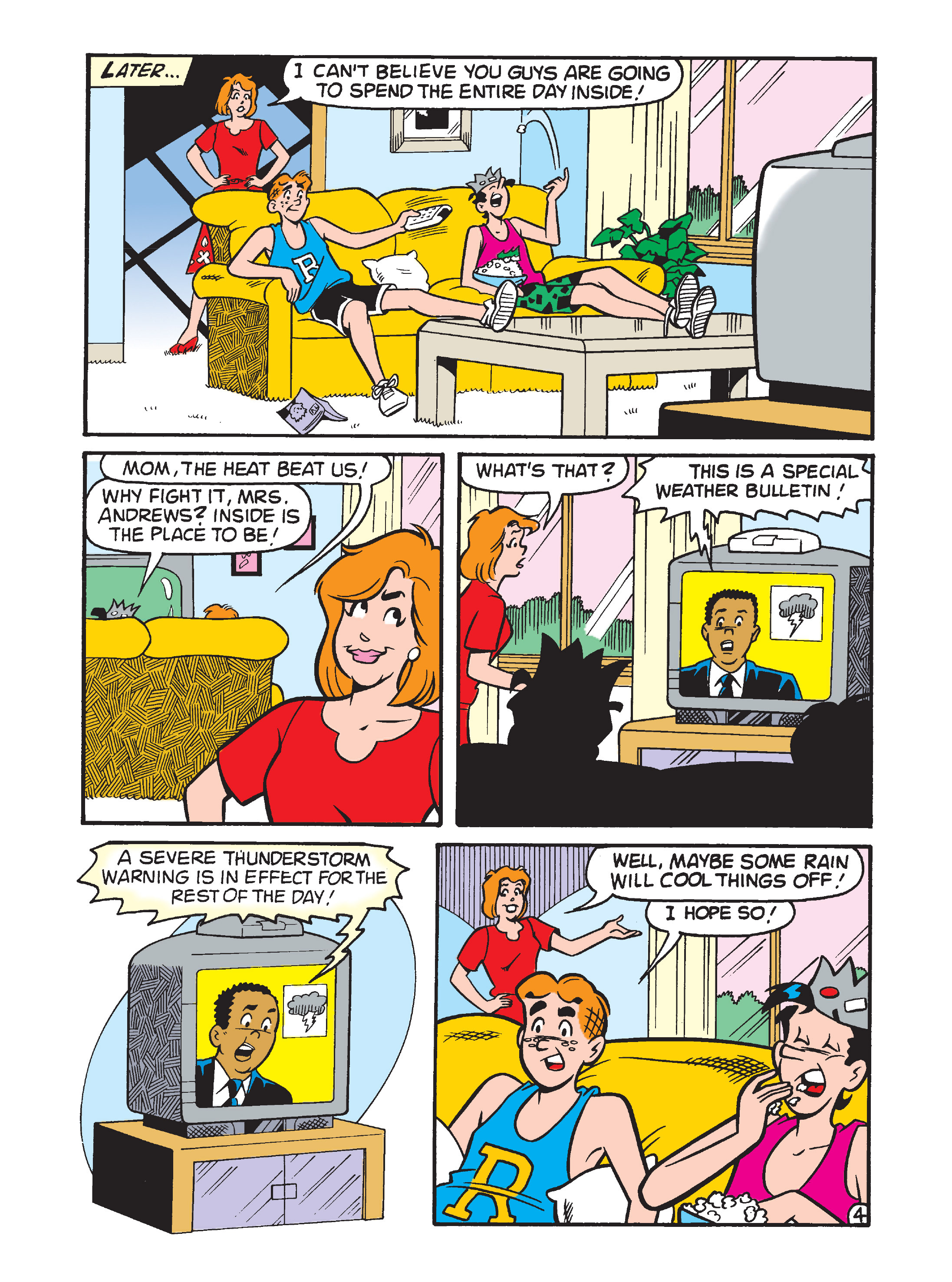Read online Archie's Funhouse Double Digest comic -  Issue #7 - 116