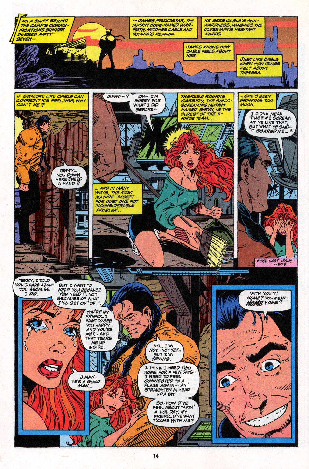 Read online X-Force (1991) comic -  Issue #30 - 15