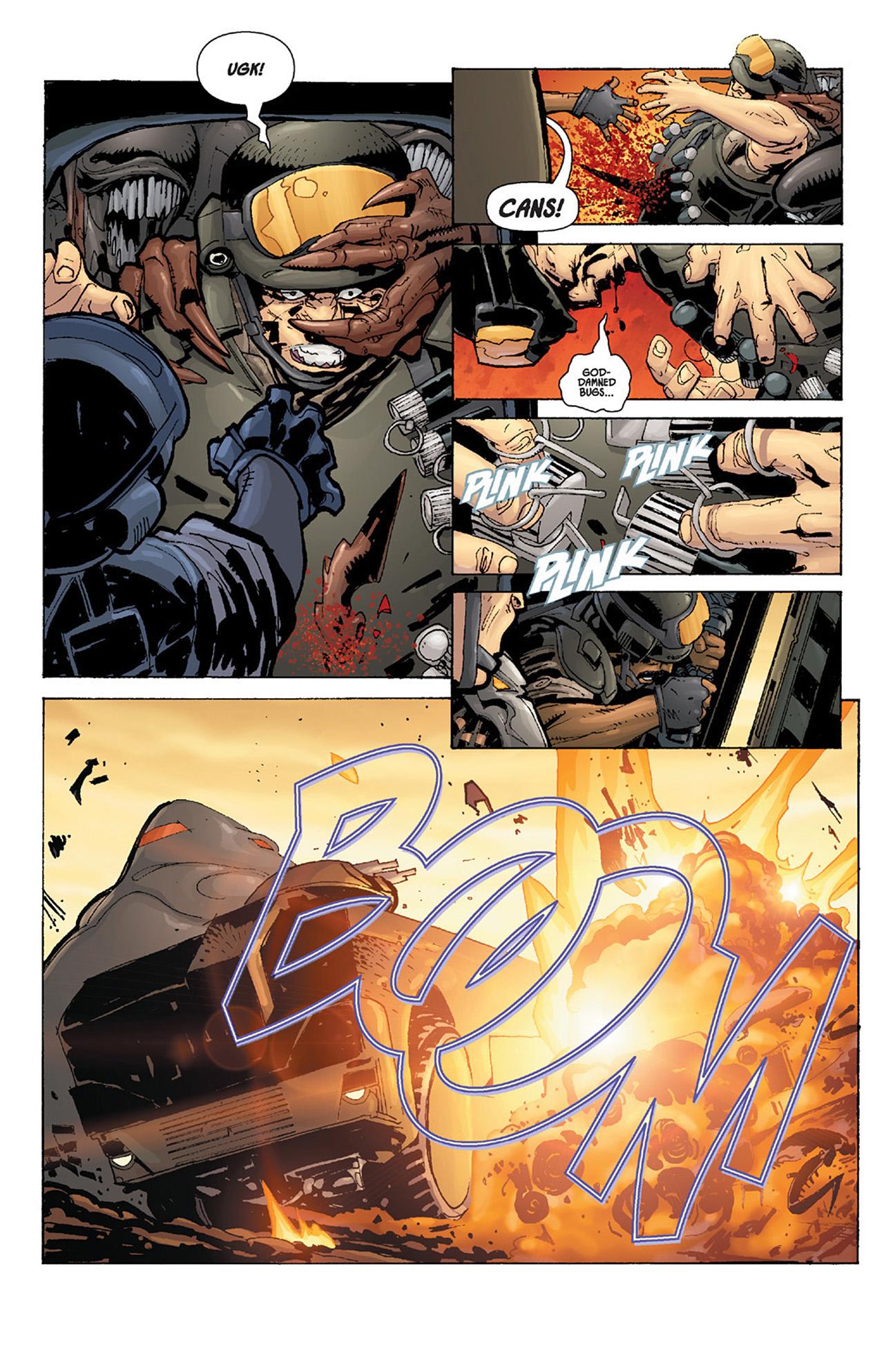 Read online Aliens vs. Predator: Three World War comic -  Issue #4 - 13