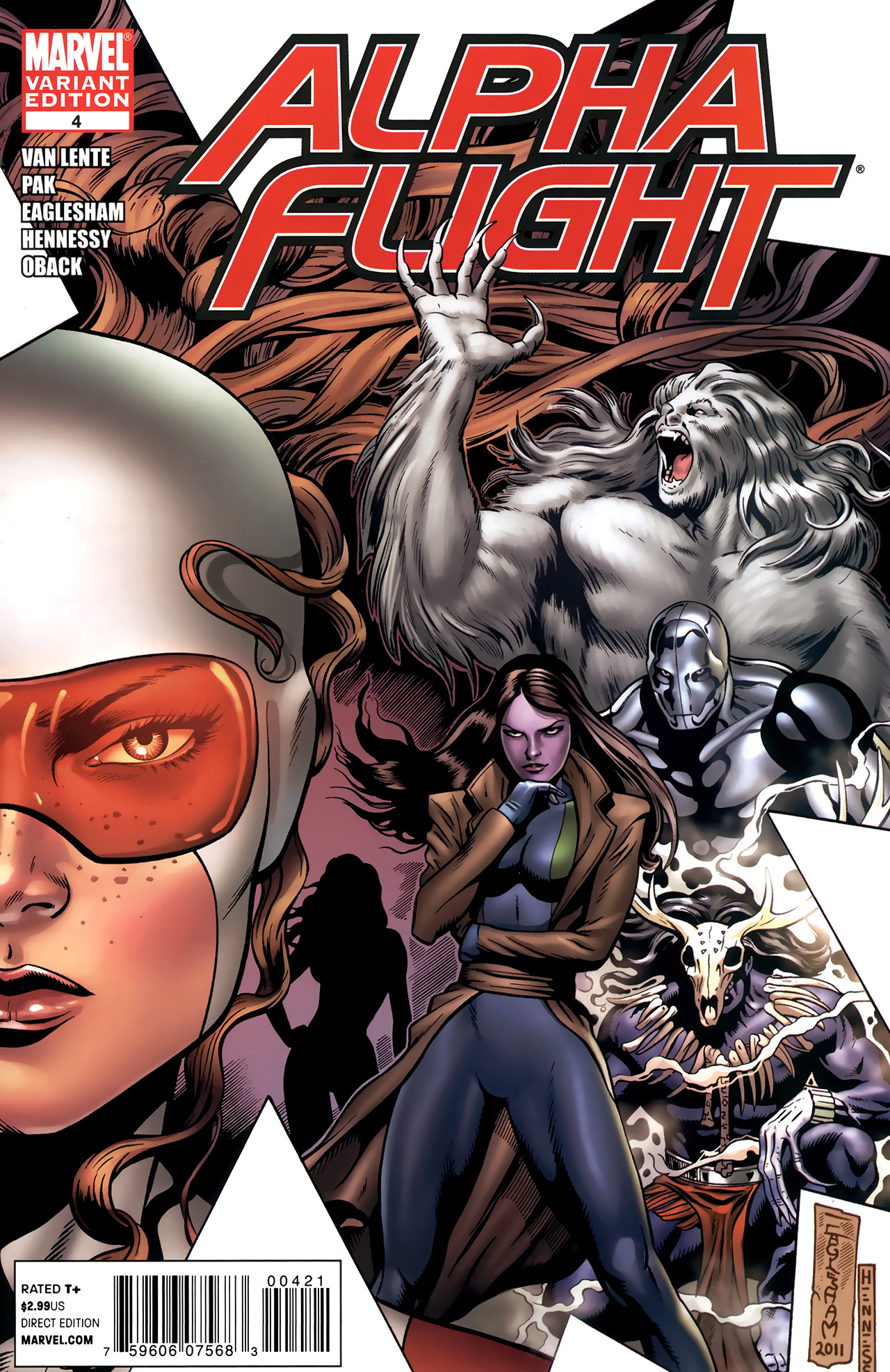 Read online Alpha Flight (2011) comic -  Issue #4 - 2
