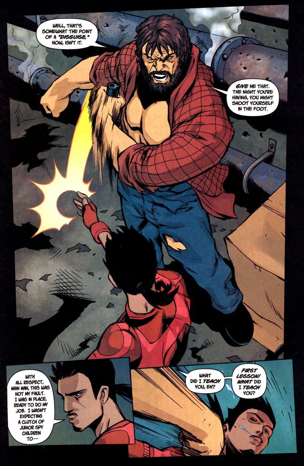 Read online SpyBoy: Final Exam comic -  Issue #1 - 15