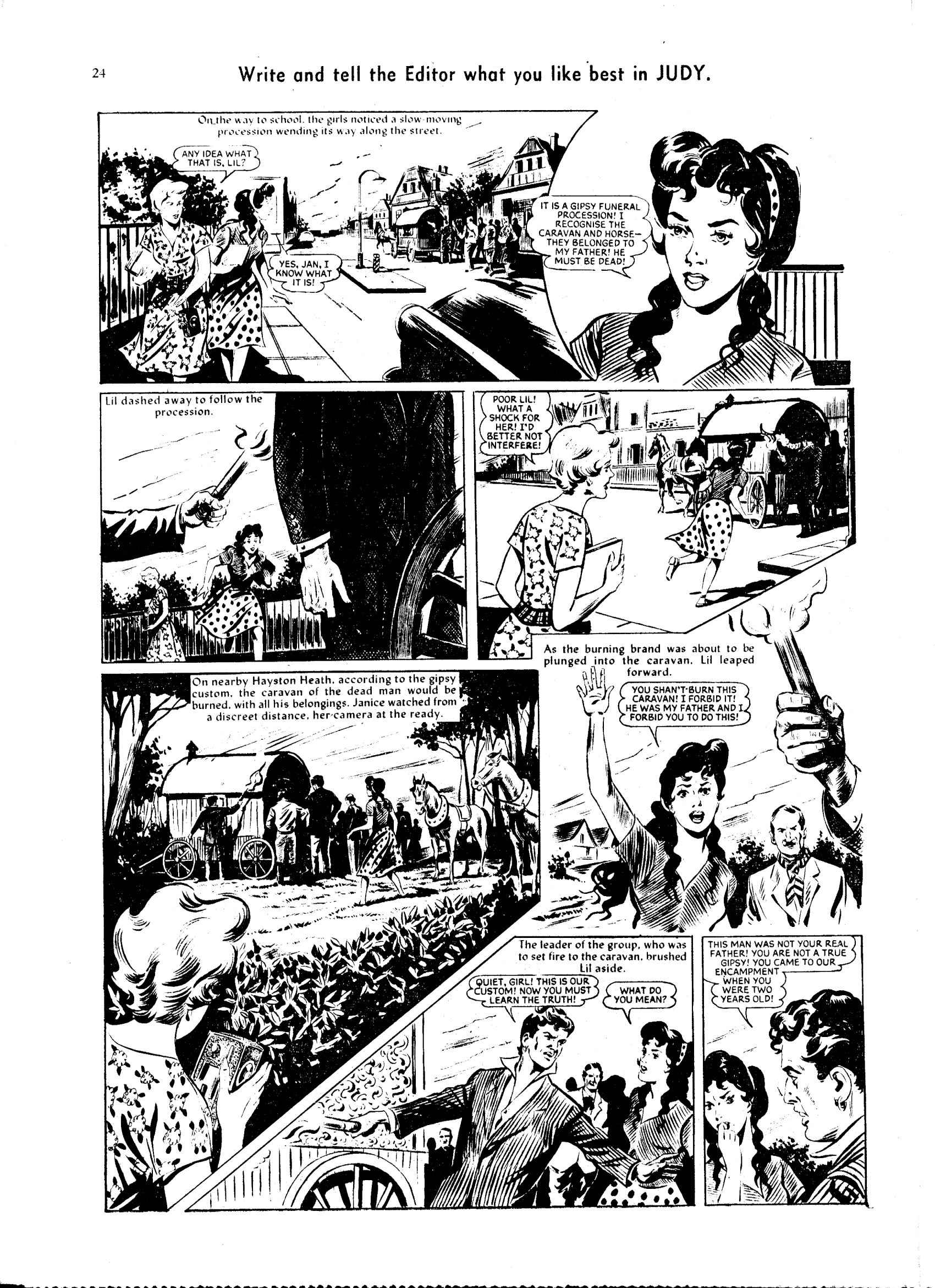 Read online Judy comic -  Issue #64 - 24
