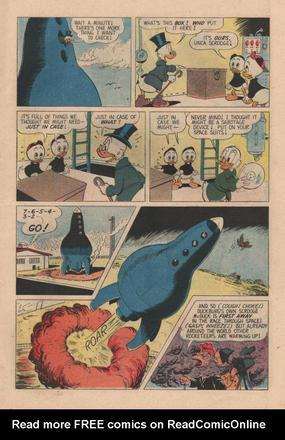 Read online Uncle Scrooge (1953) comic -  Issue #24 - 7