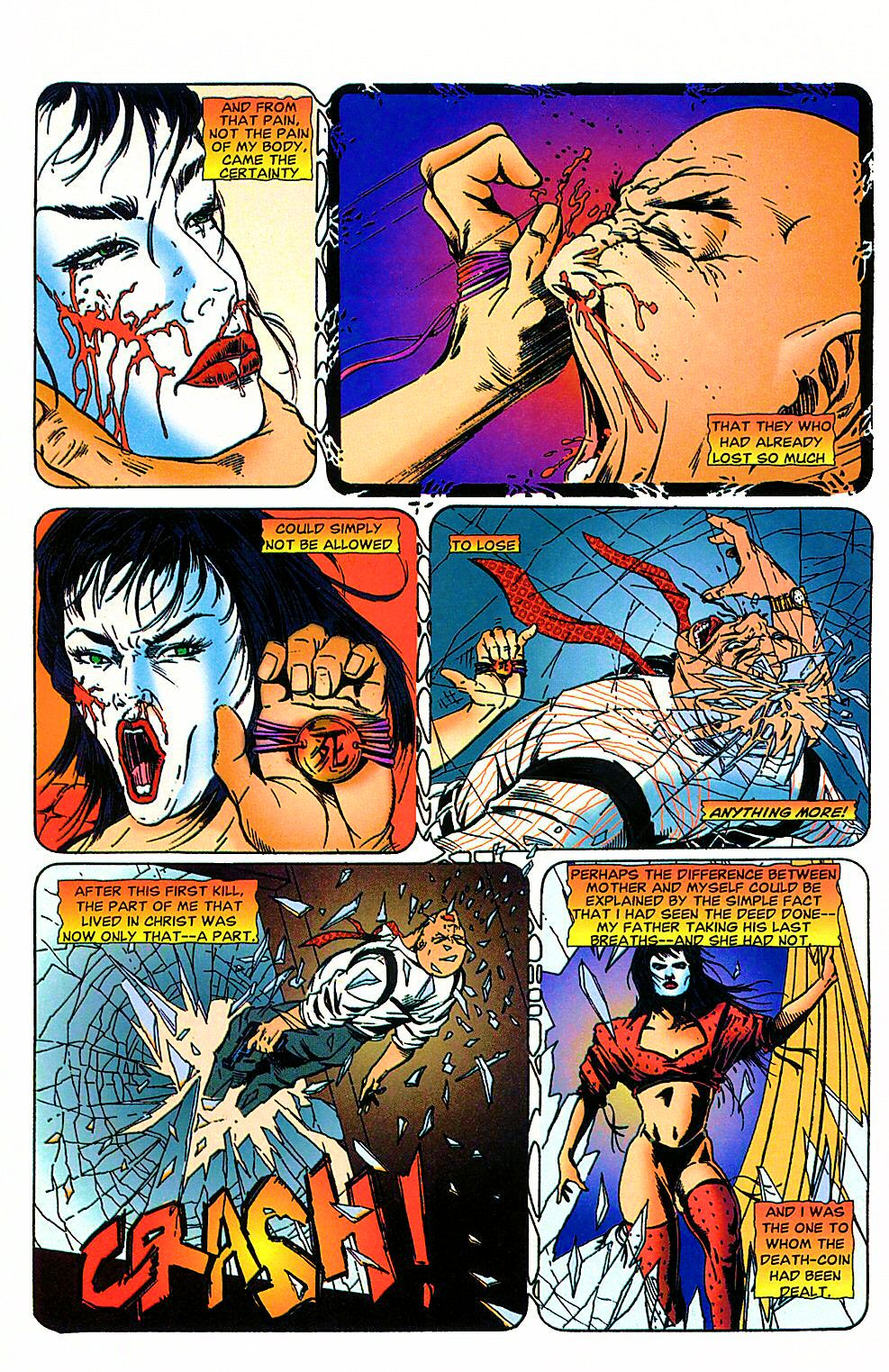 Read online Shi: The Way of the Warrior comic -  Issue #4 - 21