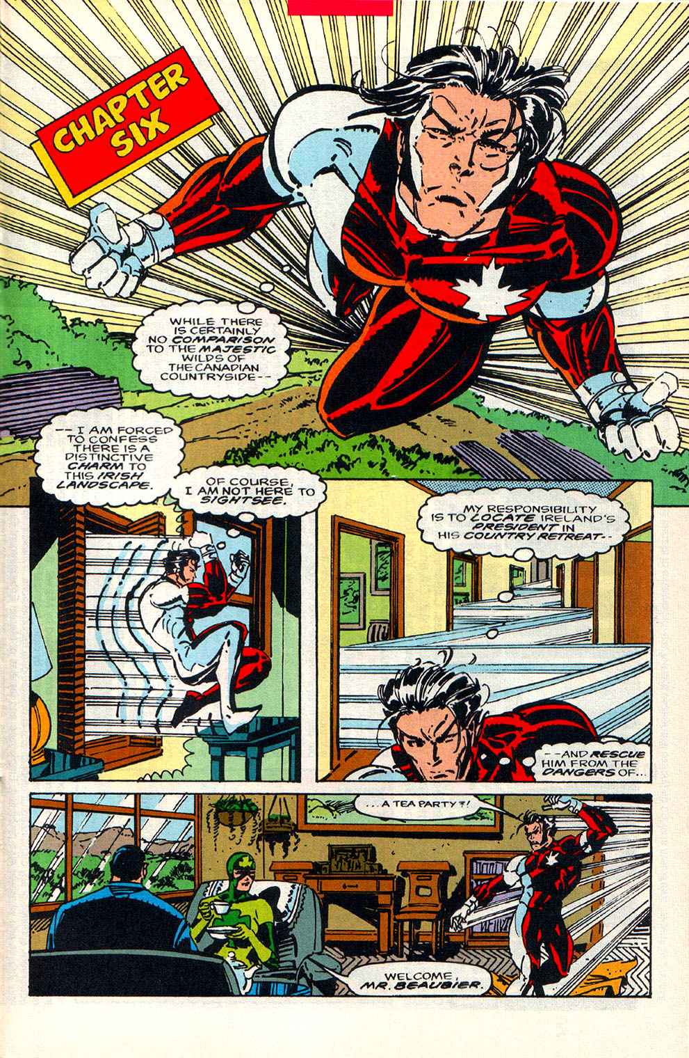Read online Alpha Flight (1983) comic -  Issue #108 - 16